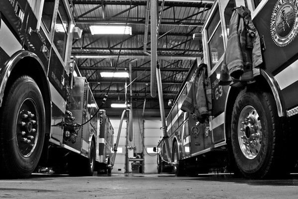 Waiting for the Call Engine 63 and Engine 62  2012-2013 winter storm